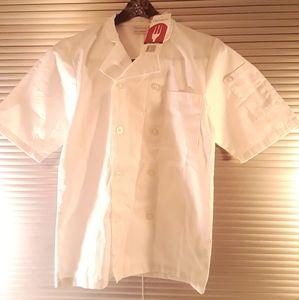 Chef Works Uniform Shirt Culinary NWT- XS